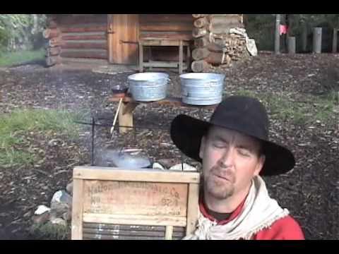 Pioneer Skills  Pioneer Clothes Washing