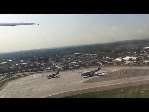 Takeoff Sheremetyevo SU100 AFL100 SVO - JFK Boeing 777-300ER VQ-BQG Взлёт Шереметьево Москва-Нью-Йорк