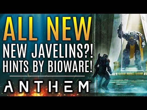 "Anthem - New Javelins ""Hinted"" by Bioware! Their DLC Plans and Promises!"