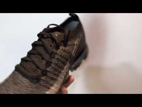 0fc0bbbfa75 Nike Air VaporMax Flyknit 2 0 Black Dark Grey 942842-012 - YouTube