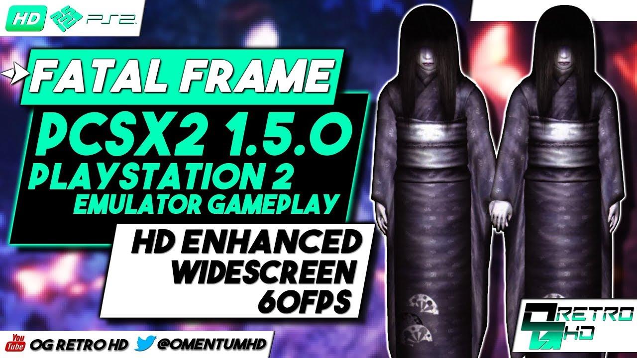 Fatal Frame | PCSX2 v1.5.0 - PS2 Emulator PC Gameplay | HD - 60ᶠᵖˢ ...