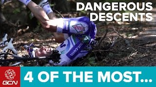 Four Of The Most Dangerous Descents In Pro Cycling thumbnail
