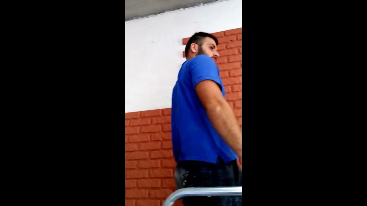 Pannelli effetto finto mattone youtube for Pannelli in finto mattone