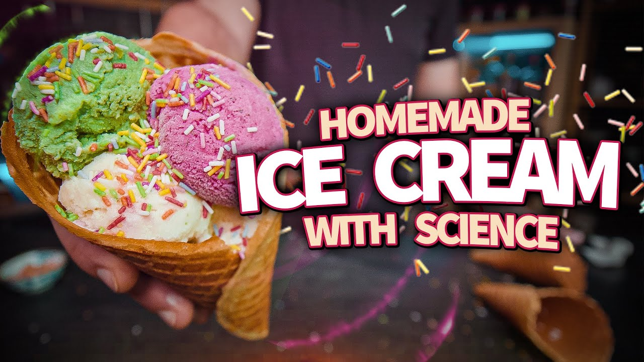 Homemade Ice Cream (And How It ACTUALLY Works)