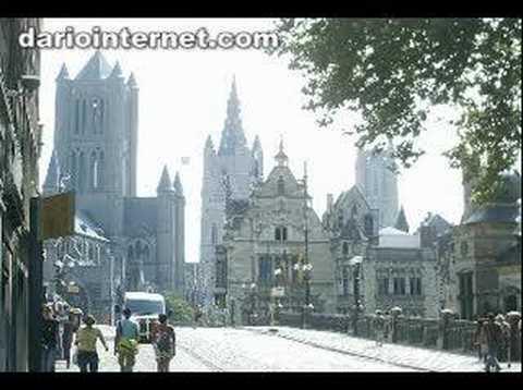 Gent in Belgium Gothic Tourism travel vacation
