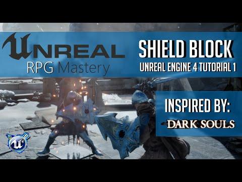Blocking State - Shield Block Tutorial (Dark Souls) Part 1| Unreal Engine 4 |
