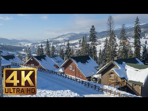 Ukrainian Carpathians in 4K Ultra HD - The Land of Culture and History