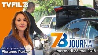 7/8 Le journal – Edition du mercredi 25 mai 2016