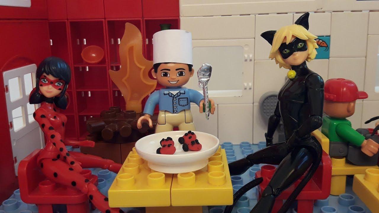 Леди Баг и Супер-Кот Злой повар - YouTube