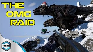 Ark Survival Evolved THE OMG RAID! THE FALL OF THE TRIBE