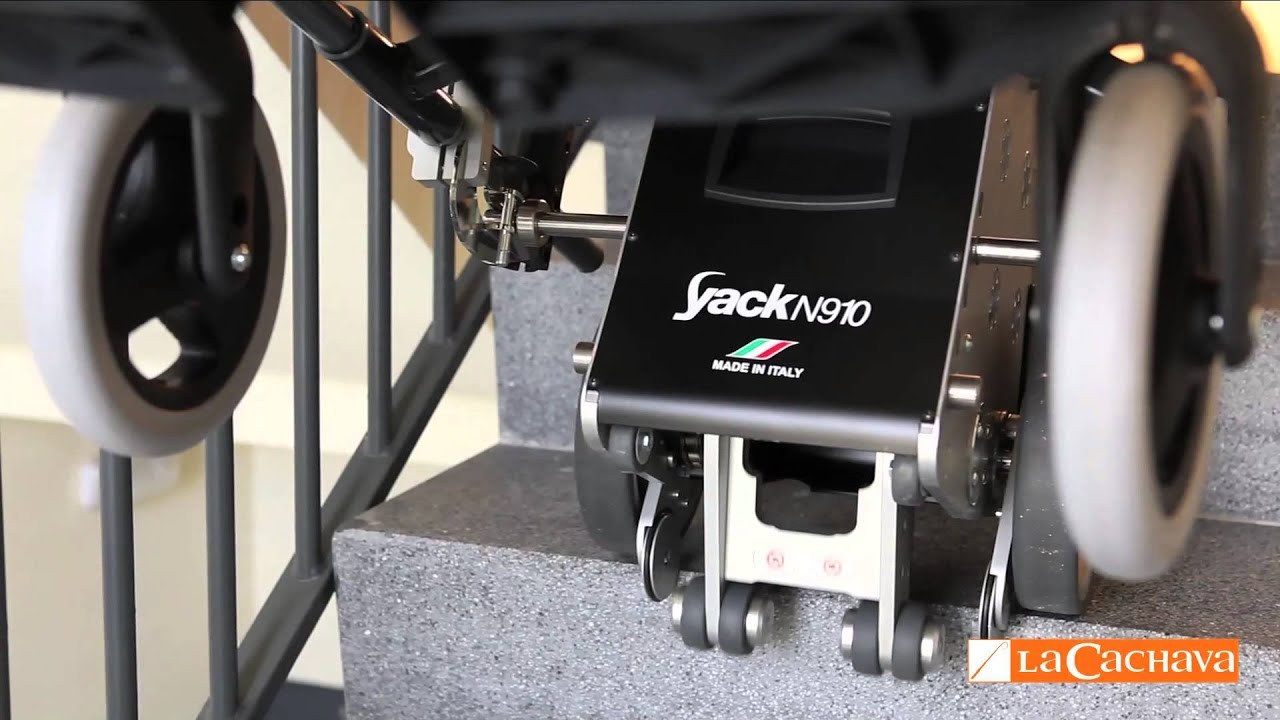 Salvaescaleras con adaptaci n para silla de ruedas yack - Silla de ruedas de transferencia plegable y portatil ...