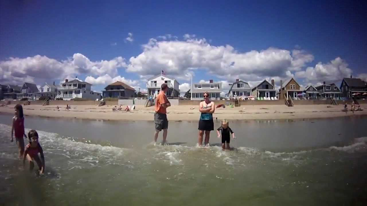 Kayaking And Playing In The Surf Wells Maine Moody Beach