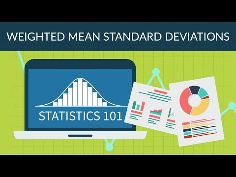 Statistics 101 - Weighted Mean Standard Deviations