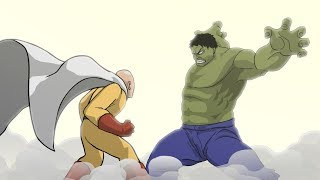 Hulk vs Saitama (Part 1) - Taming The Beast