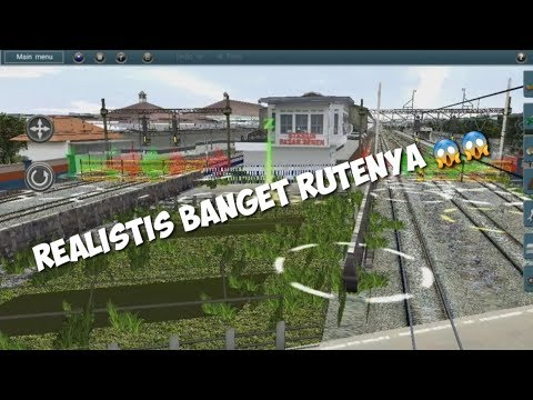 Review RUTE DAOP 1 LITE BY KHB INDONESIA | Trainz Simulator Android