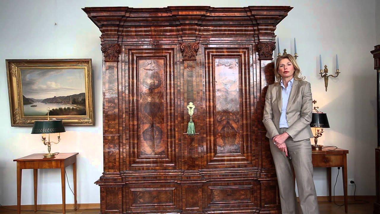 antiquit ten regine schmitz avila wiesbaden youtube. Black Bedroom Furniture Sets. Home Design Ideas