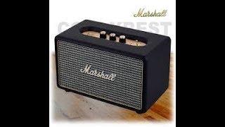 Marshall Acton Bluetooth speaker unboxing!