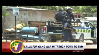 TVJ News: Calls for Gang War in Trench Town to End - July 26 2019