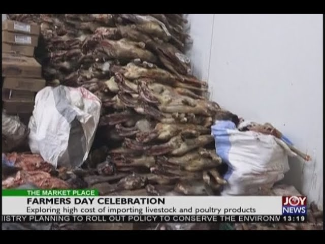 Farmers Day Celebration - The Market Place on JoyNews (5-12-18)