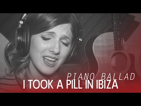 Mike Posner - I Took A Pill In Ibiza - Piano ballad cover by Halocene