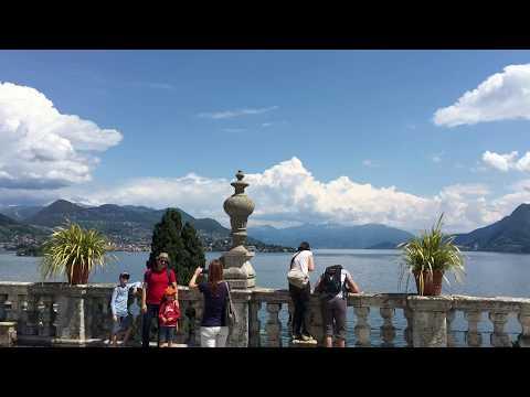 Lago Maggiore, Isola Bella In Italy