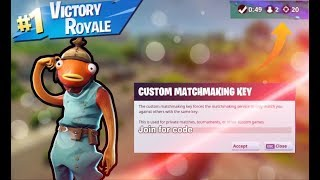 N/A WEST FORTNITE CUSTOM MATCHMAKING SCRIMS / FORTNITE BATTLE ROYALE WINNER GETS A RAID
