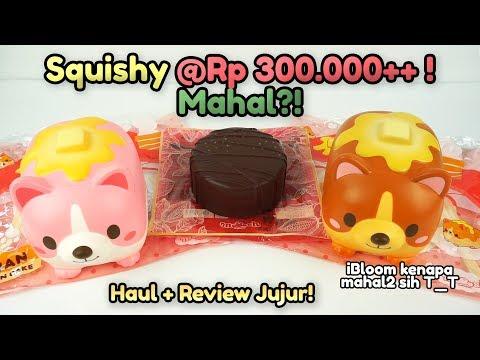 HAUL + REVIEW JUJUR! Squishy IBLOOM Wan Pancake & Sacher Torte Mini