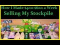 Selling Your Stockpile = Big Profits - Extreme Couponing How to Make Money