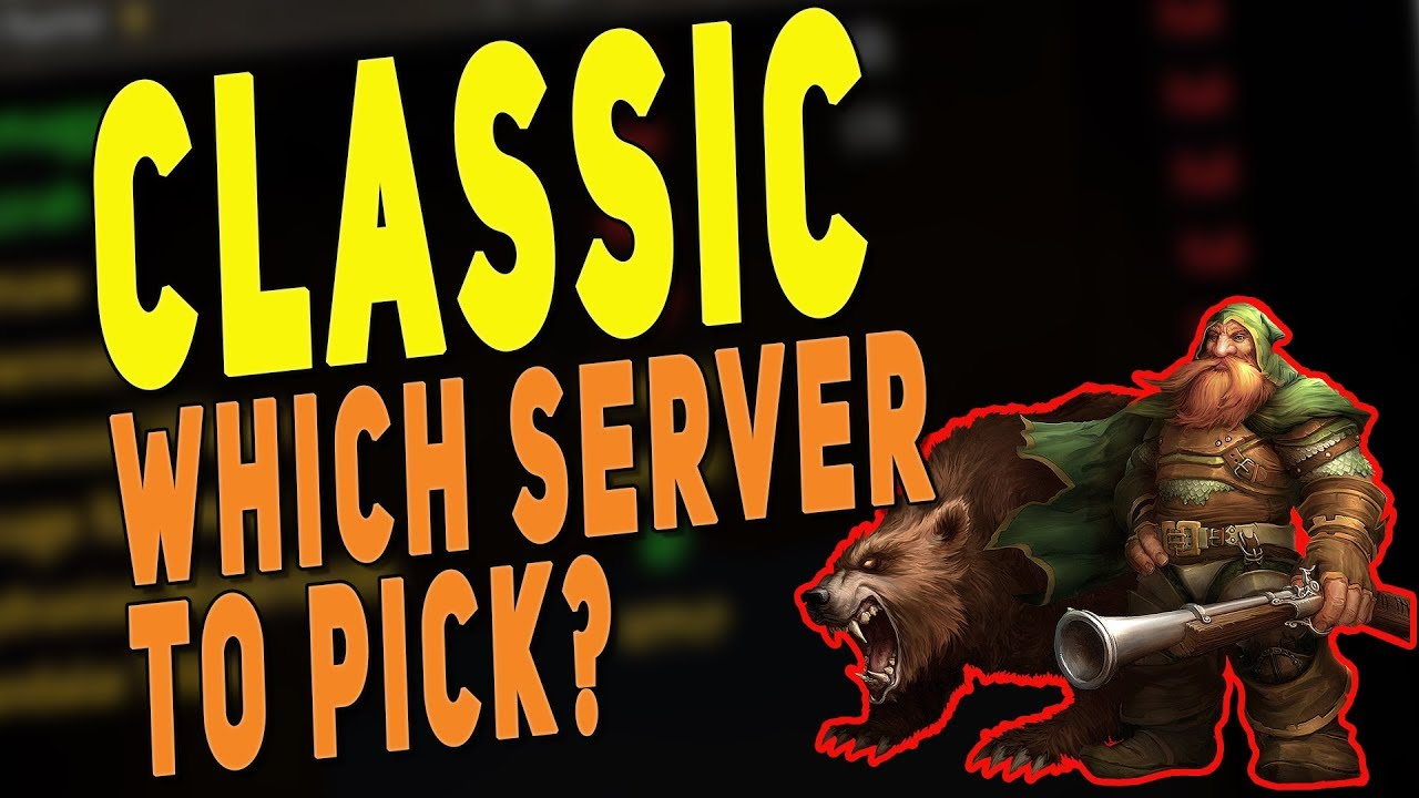 wow classic server list