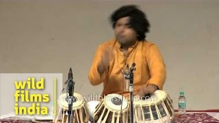 Unity concert by Tabla maestro Hafeez Ahmed Alvi and group - Delhi