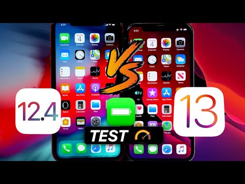 iOS 13 Vs iOS 12.4 Battery & Performance Test