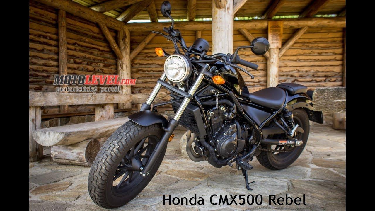 Honda Cmx500 Rebel Test Motolevel Com Youtube