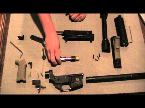 Tiberius T15 disassembly and assembly