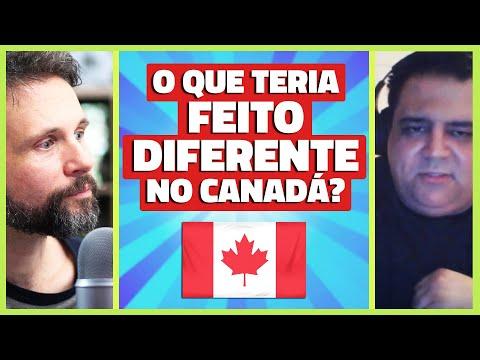 Coisas que faria DIFERENTE se fosse para o CANADÁ hoje - Canadá Diário Documento