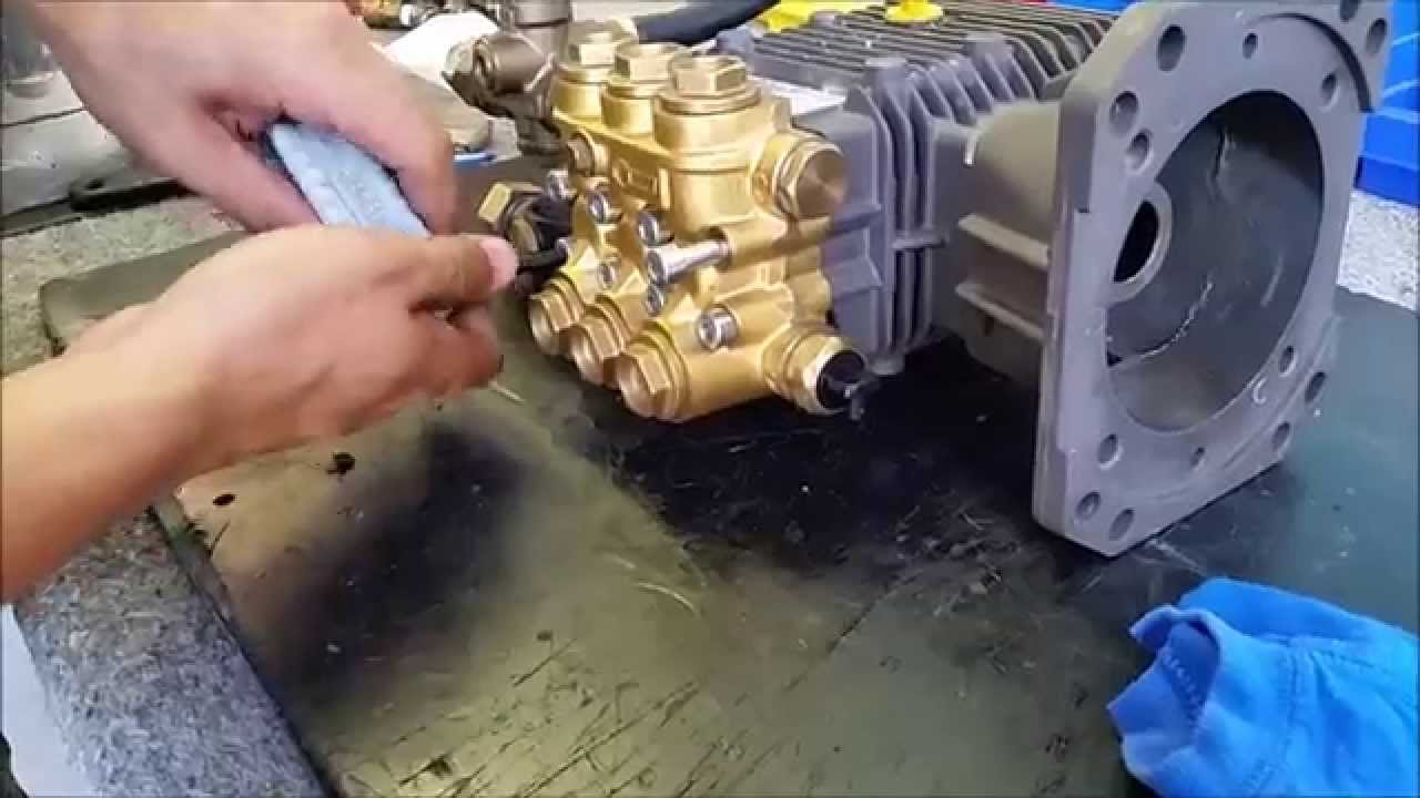 How To Pressure Cleaner Pump Seal Replacement Youtube