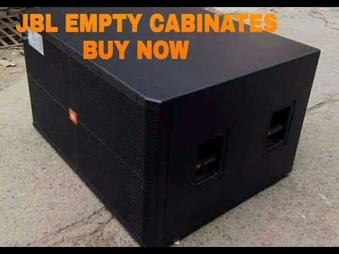 JBL Empty Cabinates DJ Box  JBL Srx,JBL Top,JBL Bass Srx725,srx728,srx718