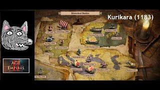 Age of Empires 2: DE Campaigns   Historical Battles   Kurikara (1183)