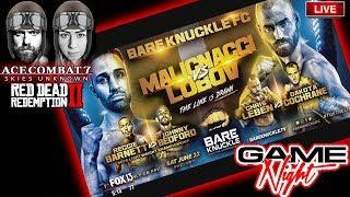 🔴 Bkfc 6 Paulie Malignaggi Vs Artem Lobov Live Discussion During Ps4 Gameplay