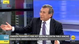 Abogado de Pablo Sánchez: