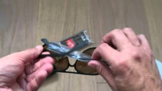 9b2b26e7609df Unboxing 2014 replicas Ray Ban sunglasses cheap for sale