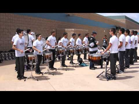 Pulse Percussion 2011 Warm Up