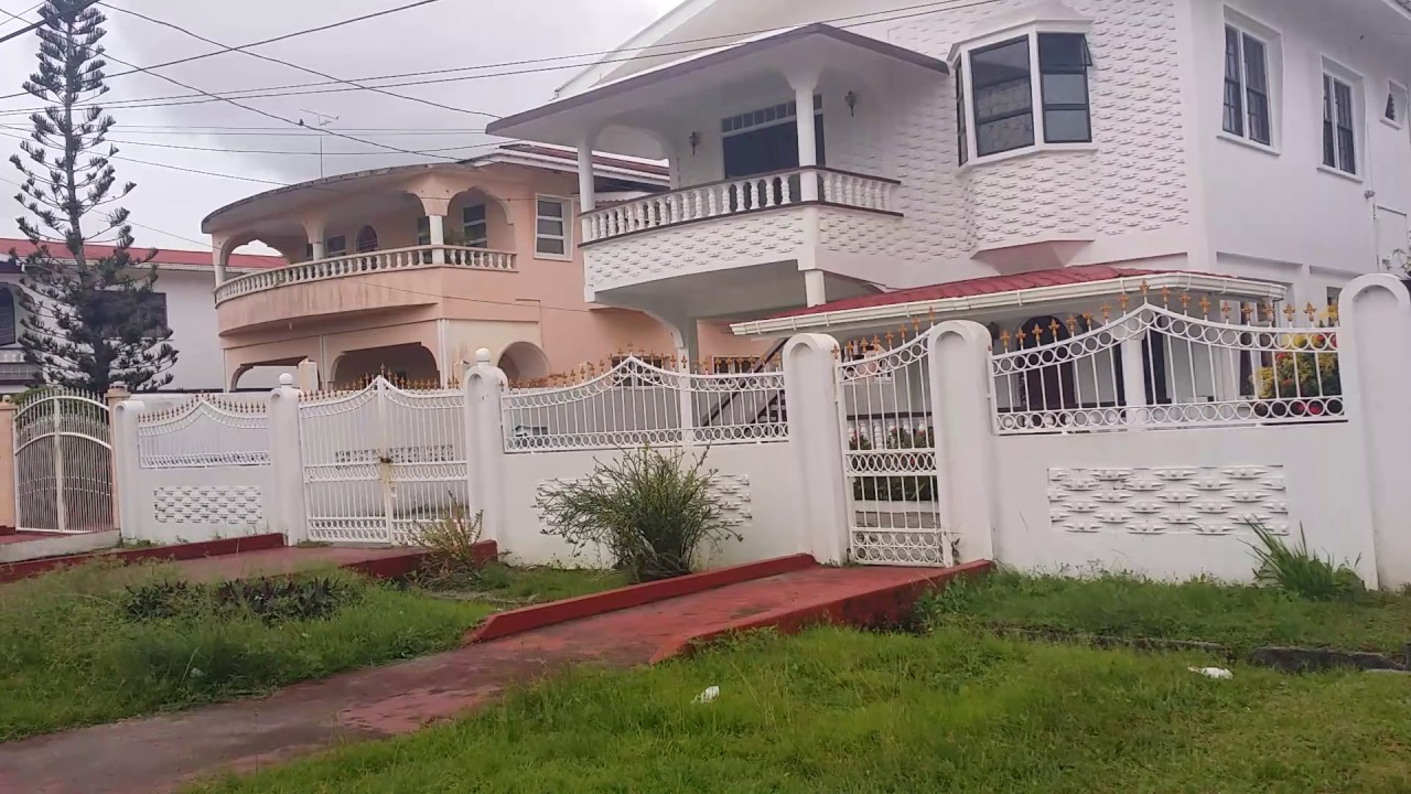 Guyana homes communities youtube for Trinidad house plans