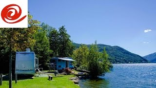 Motorhome Route to TCS Camping Lake Lugano, Switzerland