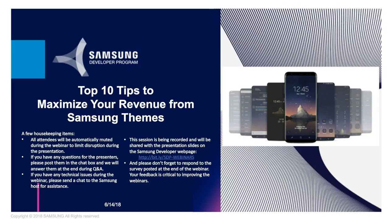 Top 10 Tips to Maximize Your Revenue with Samsung Themes