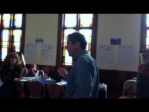 Senator Sherrod Brown Discusses Union Busting with Voters