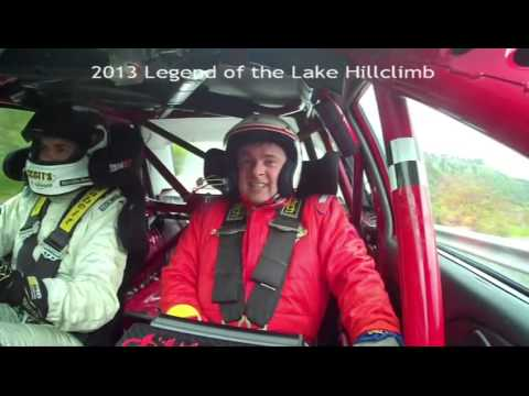 Legend of the Lakes Hillclimb 2013 Peter Gazzard Media ride