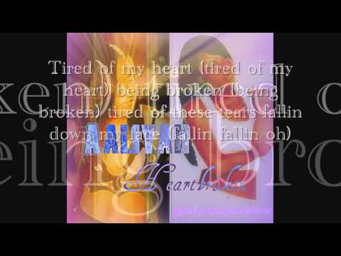 Aaliyah-HeartBroken (Lyrics)