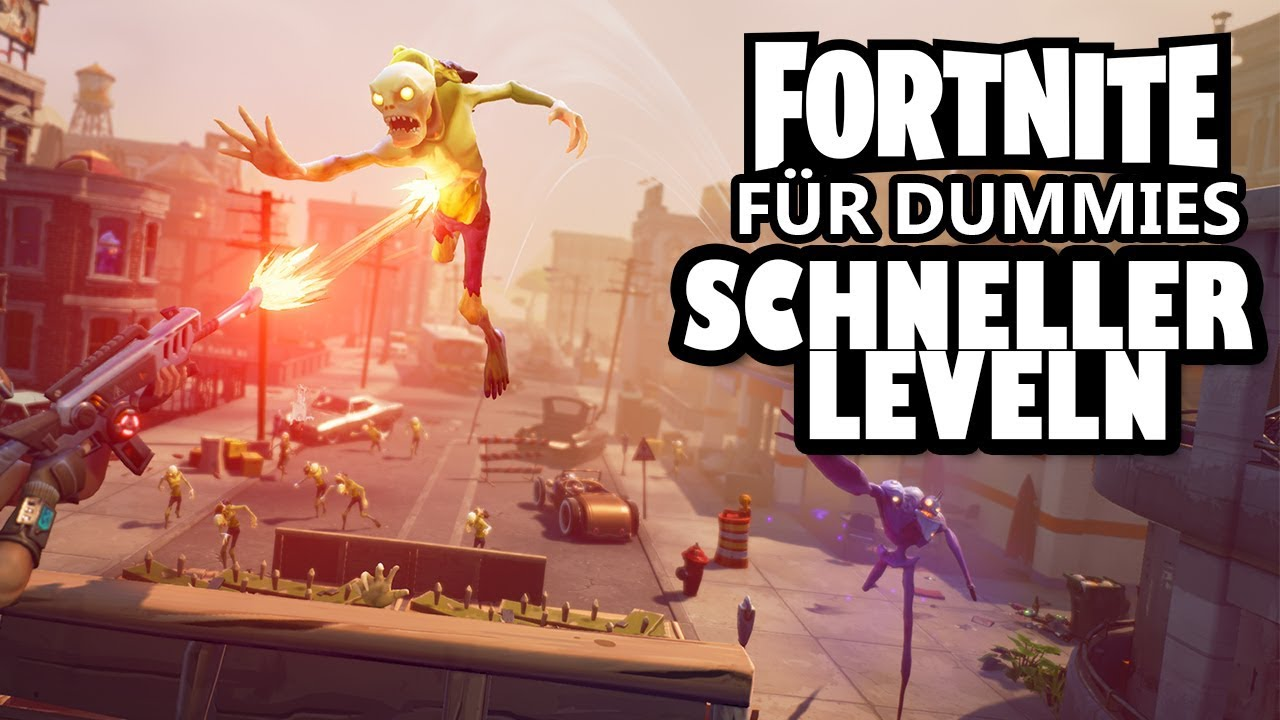 fortnite schnell sein blitzlevel erh hen mit berlebenden youtube. Black Bedroom Furniture Sets. Home Design Ideas