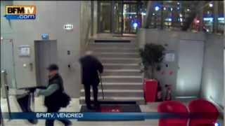 Tireur à BFMTV - Les images de la vidéosurveillance - 18/11
