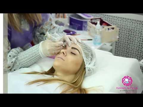 Нано напыление бровей, нано-напыление губ. Обучение, курсы перманентного макияжа в Татуэль